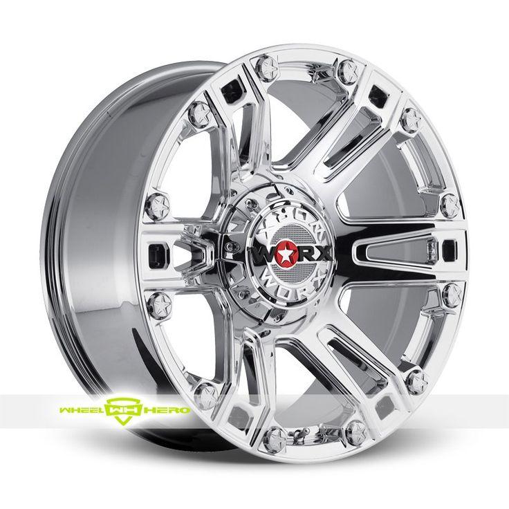 Worx 803V Beast Chrome PVD Wheels For Sale & Worx 803V Beast Rims And Tires