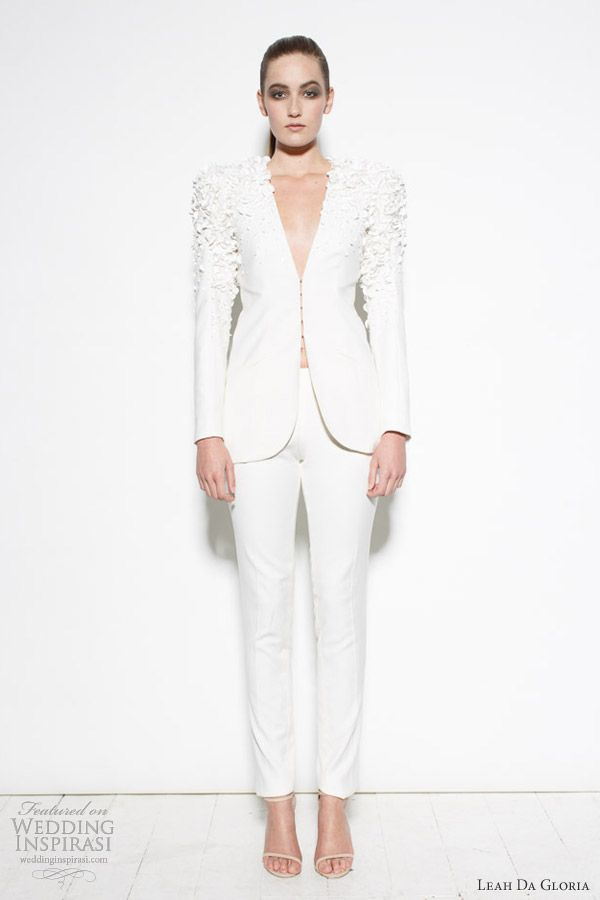 leah da gloria bridal pant suit project runway australia 4