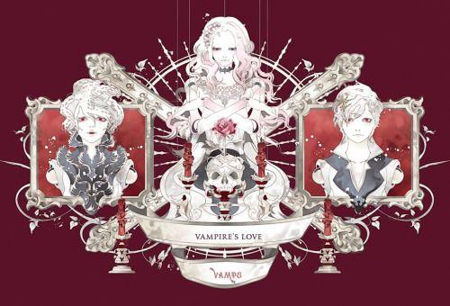 VAMPS - UNIVERSAL MUSIC JAPAN 「VAMPIRE'S LOVE」 (限定版B)CDジャケットイラスト+ストーリーブック全て描き下ろし