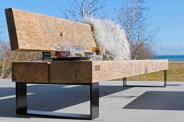 Oak furniture for your garden. Best Scandinavian style
