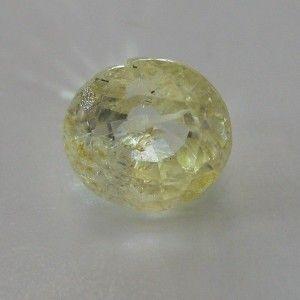 Safir Kuning Terang Round 1.82 carat
