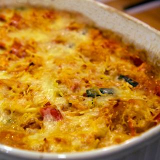"Gluten-Free Cheesy Veggie ""Pasta"" Bake"