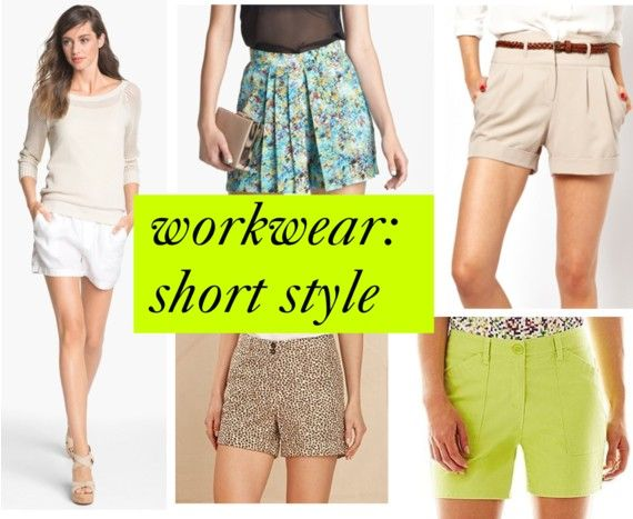 Workwear: Shorts for the Office
