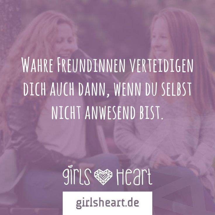 Danke an alle beste Freundinnen da draußen!  Mehr Sprüche auf: www.girlsheart.de…