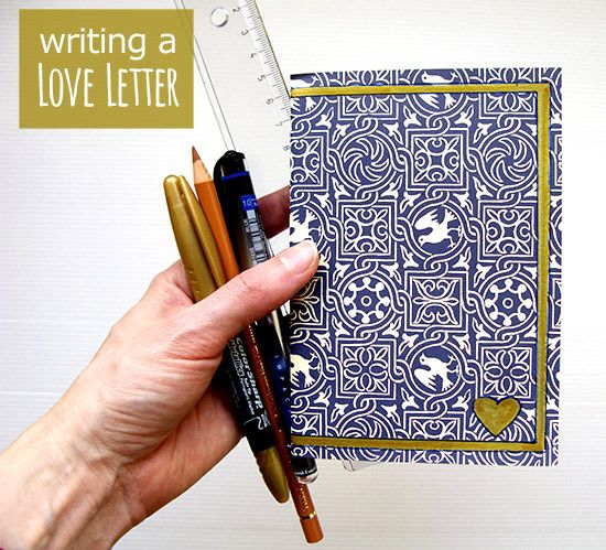 creative ideas for writing a love letter What should i do if i want to write a love letter to my crush, but lack good ideas i am a girl what should i write in the letter need creative writing services.