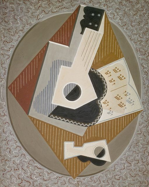 GINO SEVERINI, The Guitar, 1918