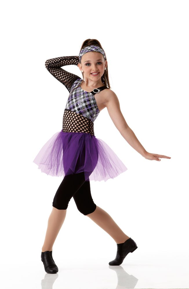 SCHOOL ROCK Capri Unitard w/Headwrap Acro Dance Costume Child Small NEW