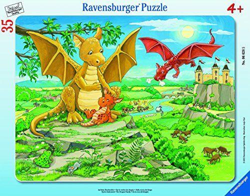 $6.99 Ravensburger The Dragon Family Frame Tray Jigsaw Puzzle (35 - http://freebiefresh.com/ravensburger-the-dragon-family-frame-tray-review/