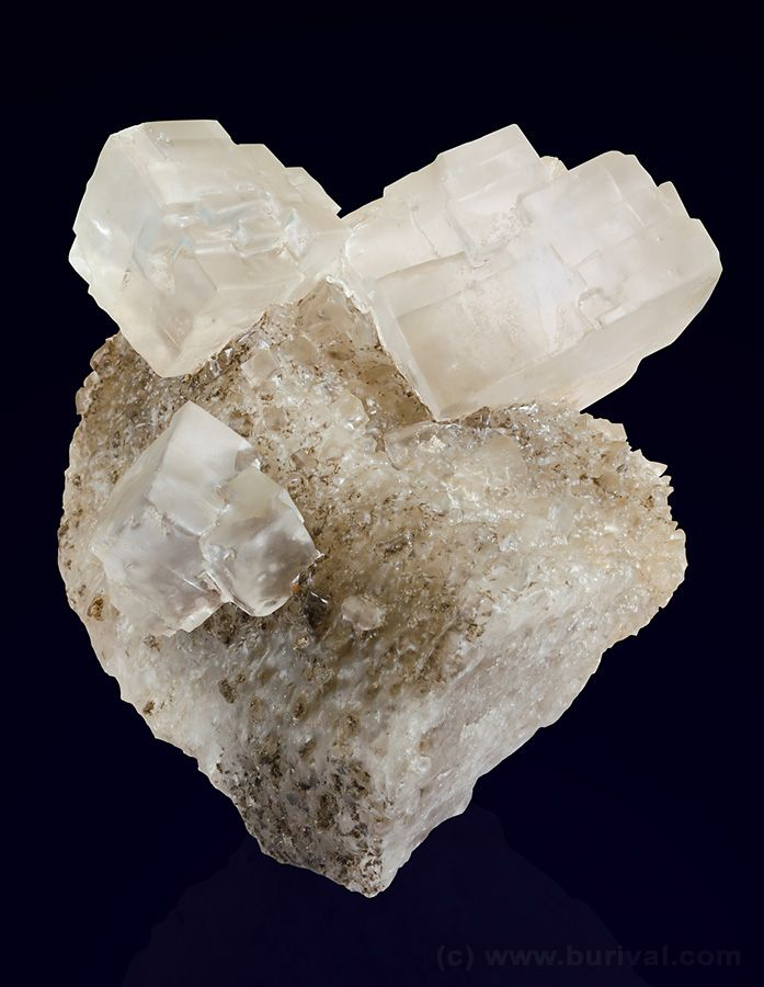 Common salt (halite) is a lot more interesting then you would ever thought. Read more  http://www.mineralexpert.org/halite-salt-mineral.php