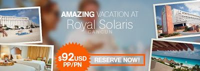 All Inclusive Packages at Family Resorts in Cancun: Cancun All Inclusive Packages: Royal Solaris Cancu...