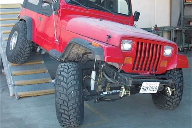 Awesome Jeep Yj Lift Install