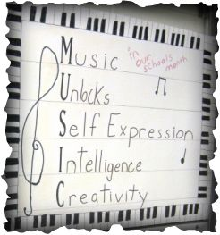 A great sign for a music classroom!