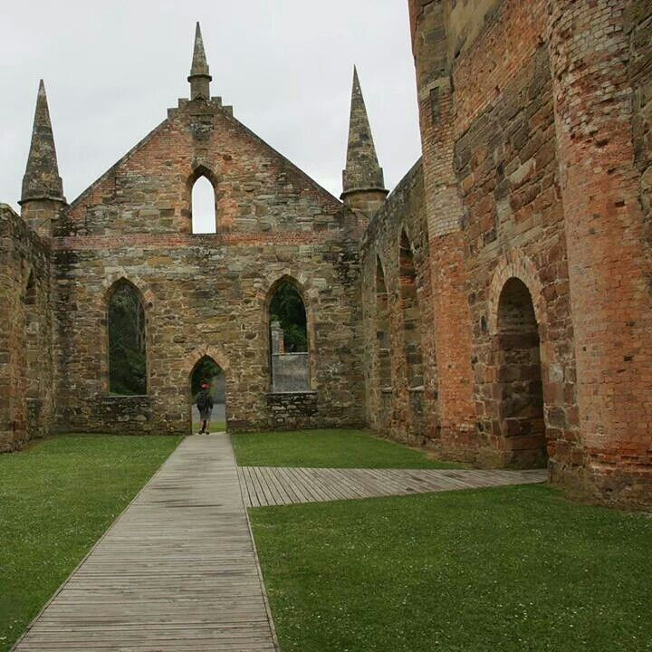 Are you heading to Tasmania? The historic former convict settlement of Port Arthur most likely will be on your itinerary. Only 60km from Hobart, this area is steeped in history where you can learn about life at this time in the open air museum. You'll find some beautiful scenery in this area too. #discovertasmania #portarthur