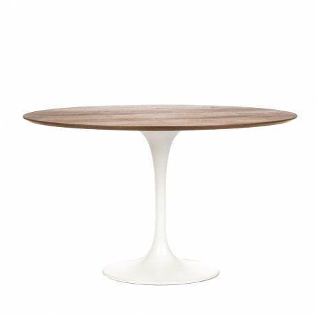 Ээро Сааринен – крупный представитель американских архитекторов и промышленных дизайнеров. В ходе собственных экспериментов Ээро сформировал собственный неофутуристический стиль. В его направлении преобладает простота и широта структурных кривых. Настоящей находкой архитектора в создании мебели стала модель «Тюльпан» – кресла и столы на одной опоре. Обеденный стол Tulip олицетворяет современный стиль и комфорт. Продолжая дизайнерскую линию, столешница в форме круга на тонкой ножке напоминает…