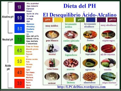 ¿Como saber si tu cuerpo es ácido o alcalino? - Lógica Ecológica