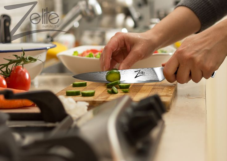 The Zelite Infinity 6 Inch Utility Knife is part of the Alpha Royal series which has been made from premium AUS10 Japanese super steel. Our Alpha Royal Series is painstakingly crafted over a 60 day peroid using the highest quality materials, it is both a razor-sharp kitchen powerhouse and a artistic statement in premium design.