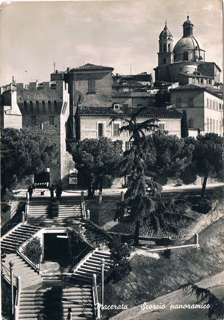 MACERATA - Scorcio panoramico - 1960