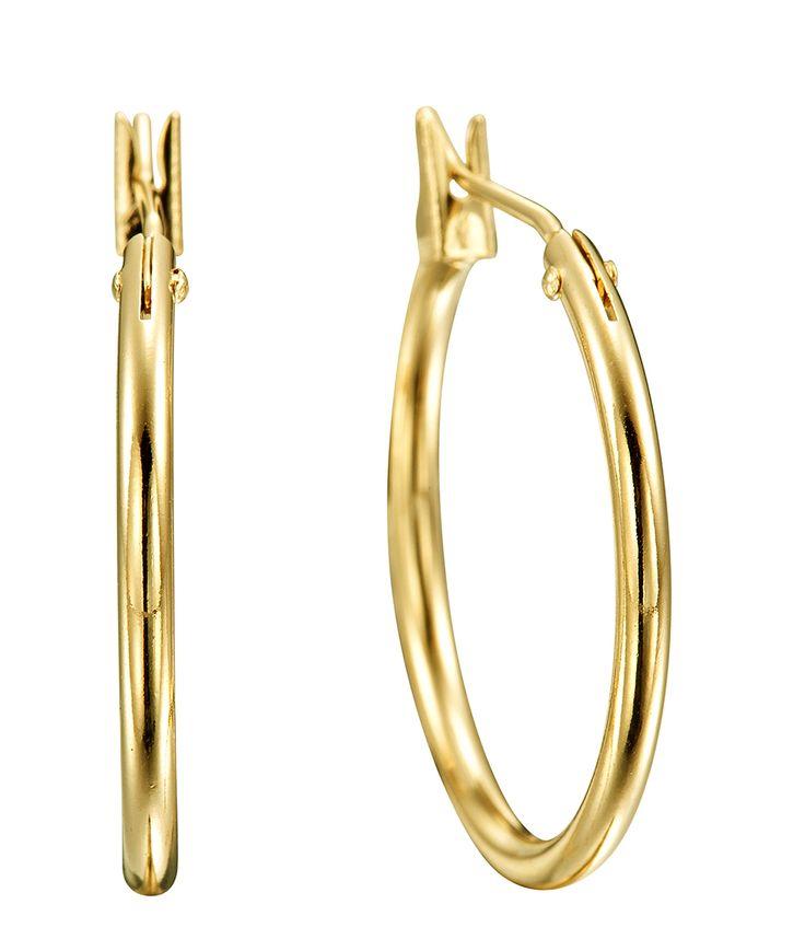 Ecliptic Gold Hoops - EG0046 - $99 AUD