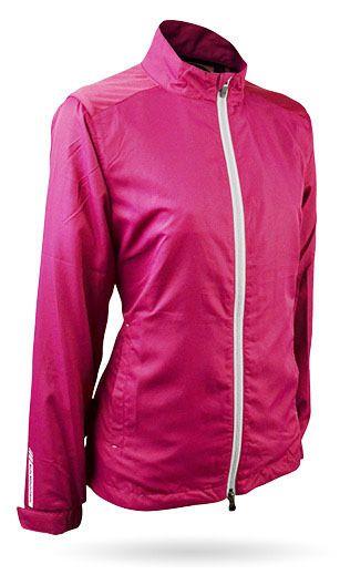 Sun Mountain® Headwind Ladies Jacket - Pink - Golfwear Store