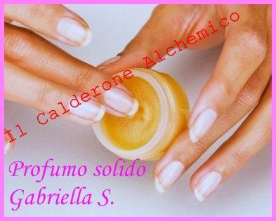 Il Calderone Alchemico Cosmesi Home Made: PROFUMO SOLIDO (Gabriella S.)