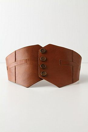 gorgeous leather belt, perfect for autumn!                                                                                                                                                                                 More