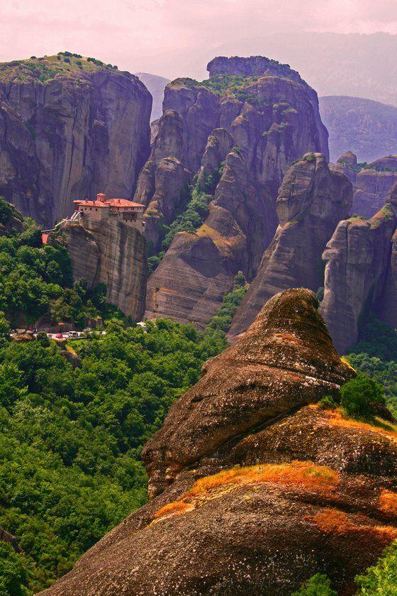 #Meteore - tra i mostri di pietra - di antalya