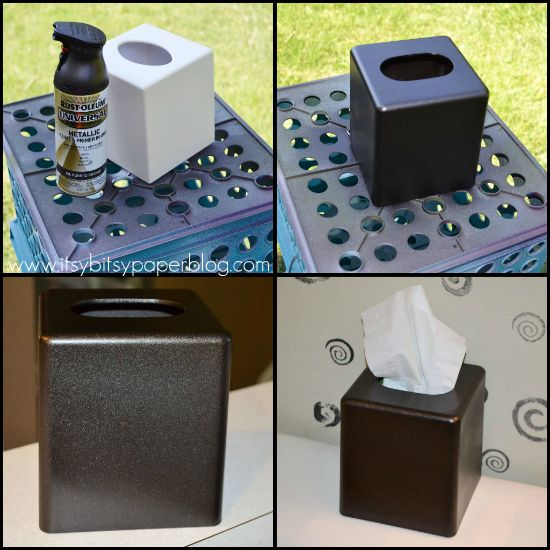 Update Your Bathroom Accessories (or Anything Else!) With Oil Rubbed Bronze  Spray Paint