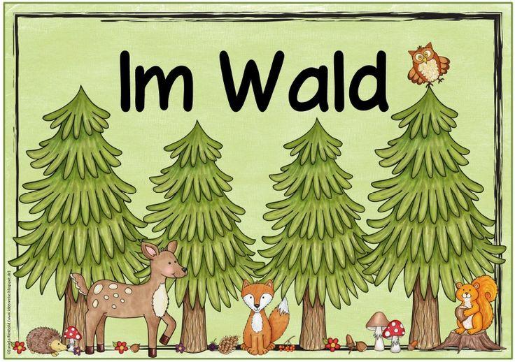 """Themenplakat """"Im Wald""""   Das nächste Plakat  zum Sachunterrichtsthema """"Wald"""" ist fertig. Ich hoffe, es gefällt euch!      Nachdem wir in B..."""