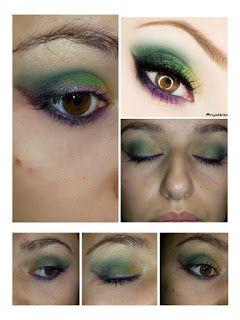 (¯`·._.·[my cinderella makeup]·._.·´¯): Trucco verde e.....PACIUGOPEDIA 3#1