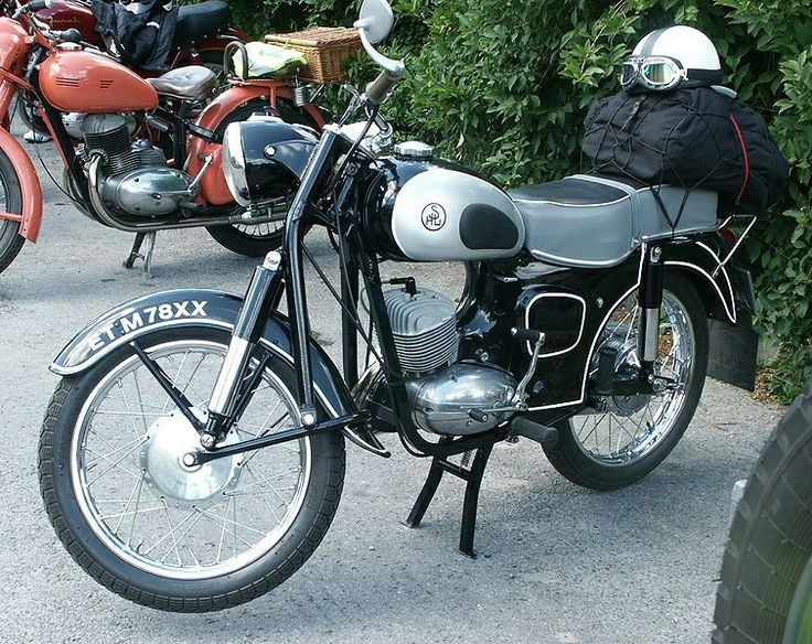 1961 SHL M11. SHL is a brand of Polish motorcycles, produced from 1938 until 1970 by Huta Ludwików, later KZWM Polmo-SHL in Kielce (small parties were made in the WFM in Warsaw).