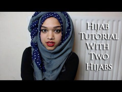 This girl has some cool looking crazy hijab tutorials. Subscribe her @saimastyleslike on Youtube!