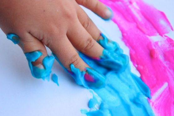 Pintura casera segura para bebés y niños | Blog de BabyCenter