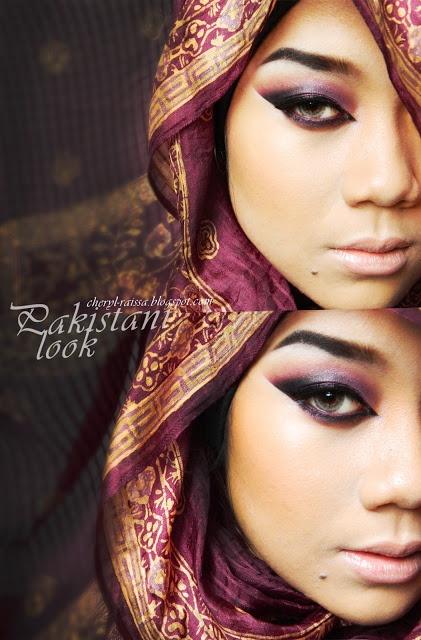 Cheryl Raissa - From Indonesia, she does Makeup  Hijab tutorials