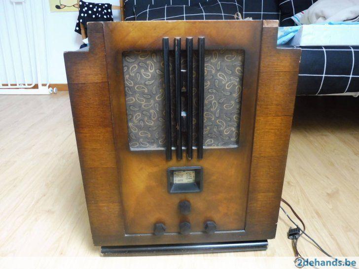 antieke radio  bell antwerpen