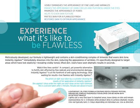 Brochure- Instantly Ageless come and join an amazing team! This stuff sells itself- let me know if interested! www.sarahshedeger.jeunesseglobal.com
