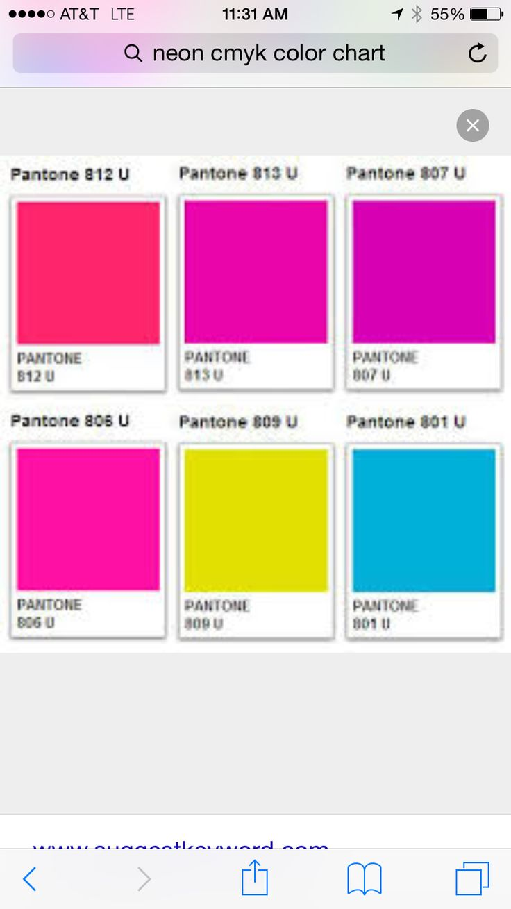 Pin by Christy Flanigan on Color Palettes | Neon colour ...