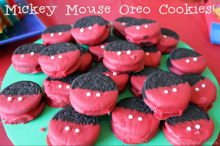 mickey mouse cookies - Google Search