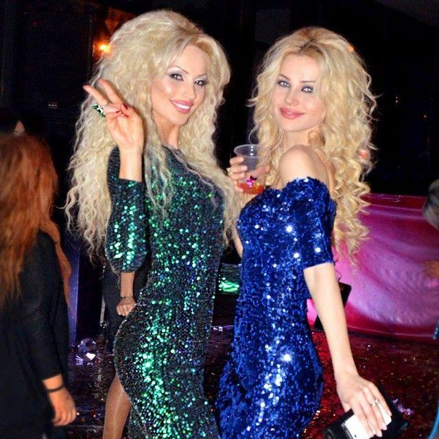Maya and Sofya  Poghosyan Armenian models