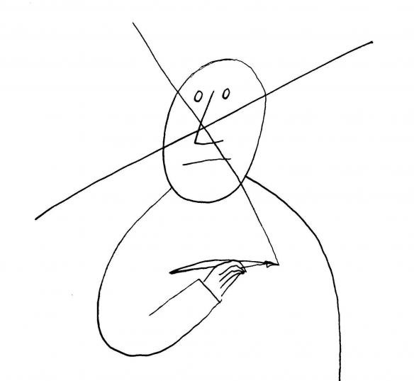 Saul Steinberg - Cross Out