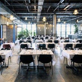 Bureau Amsterdam: restaurant op 't dakterras
