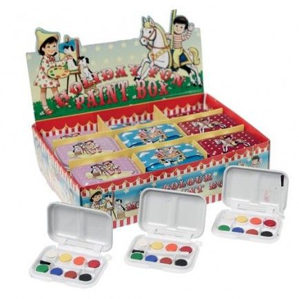 Vintage Style Mini Paint Box – Butterfly Garden (for kids!)