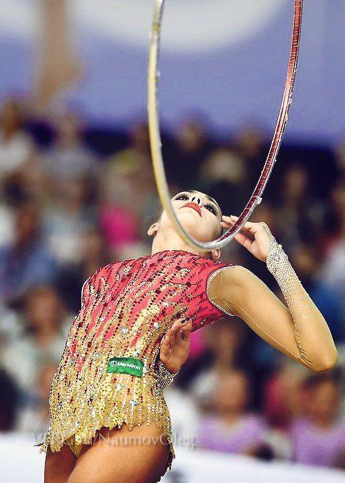 Margarita Mamun, Russia; hoop 2014 #rhythmic_gymnastics