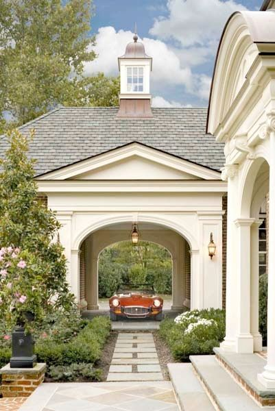 25 best ideas about porte cochere on pinterest passage for French country house plans with porte cochere
