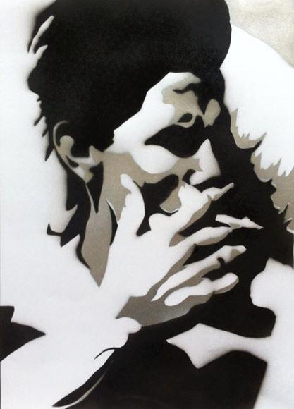 #art #arte #kunst #illustratie #illustration #graff #graffiti #graffitiart #sprayart #streetart #rook #smoke #fumo #sigarette #psychedelic #acid #abstract #blackwhite #zwartwit #larryclark #tulsa #man