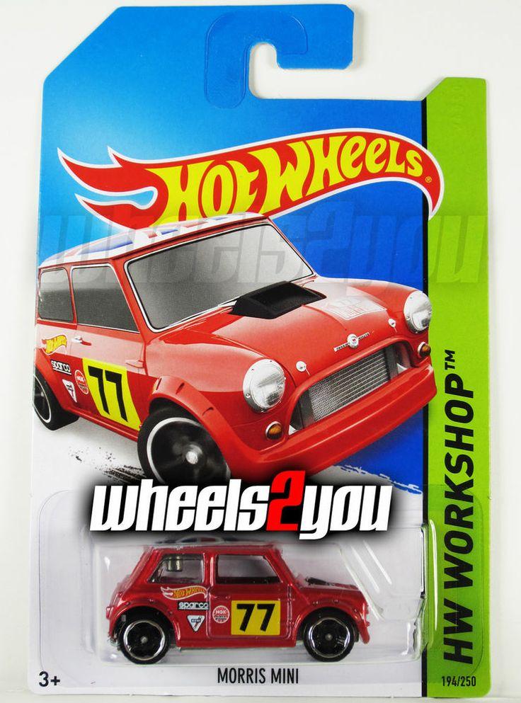 MORRIS MINI #194 Red - 2014 Hot Wheels - Worldwide H Case