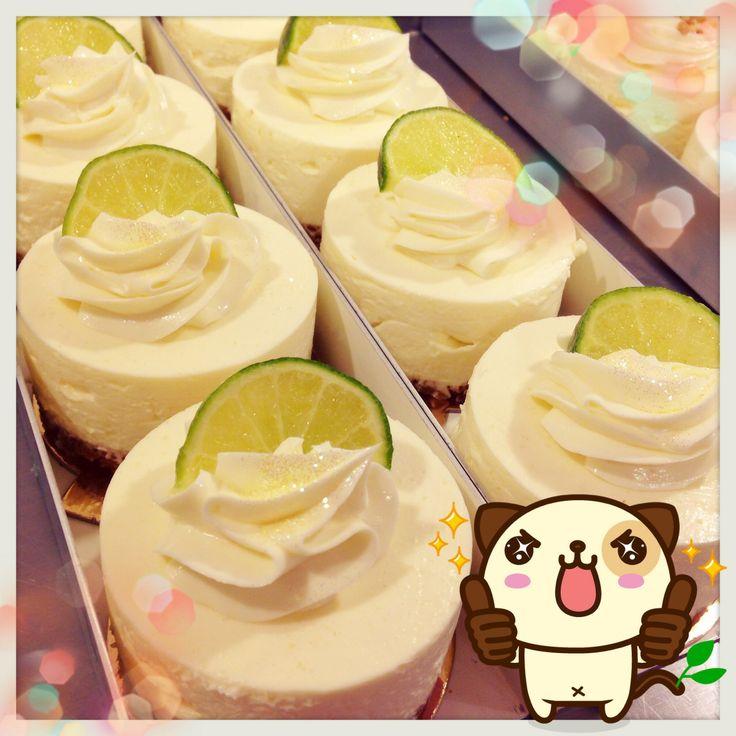 cheese cake, yuzu, daisy cake, cupcakes shop, homemade, philadelphia original recipe, french, fesh