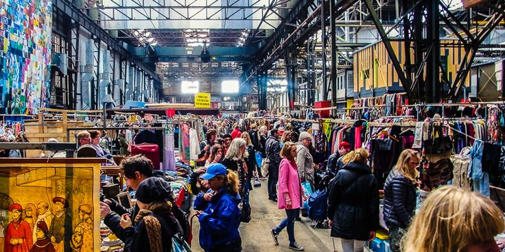 Ij Hallen - one of the largest flea markets in Amsterdam. You can find there literally everything, from clothing to furniture. It takes place every first weekend of the month, don't miss it! #amsterdam #IJ-hallen #flea #market