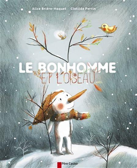 Pendant l'hiver, un bonhomme de neige recueille un petit oiseau dans son écharpe pour le réchauffer. L'oiseau lui raconte alors des histoires de son pays ensoleillé. Lorsque le printemps arrive, le bonhomme de glace fond.