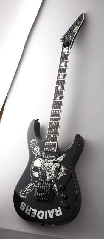 ESP Jeff Hanneman Raiders Signature Guitar