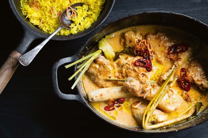Javanese chicken and coconut curry (opor ayam)